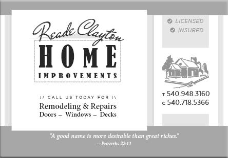 Reade Clayton Home Improvements
